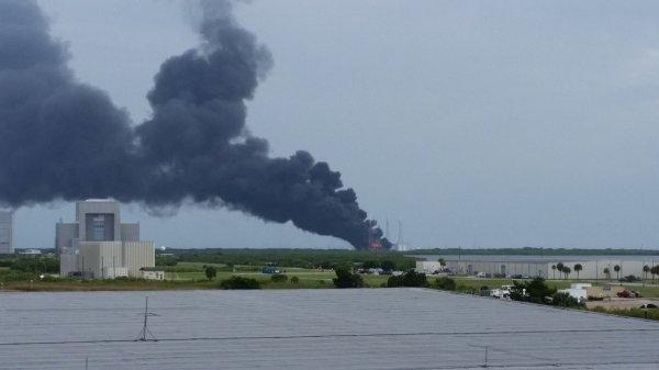 SpaceX назвала причину взрыва ракеты Falcon 9 во Флориде