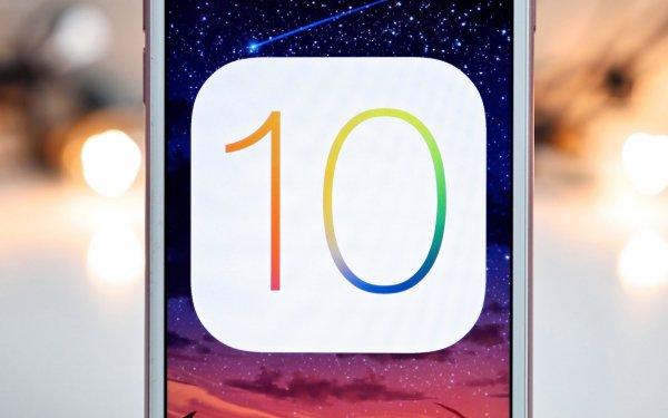 Apple обновил iOS до версии 10.0.02