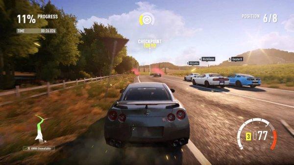В октябре заканчивается продажа первой Forza Horizon