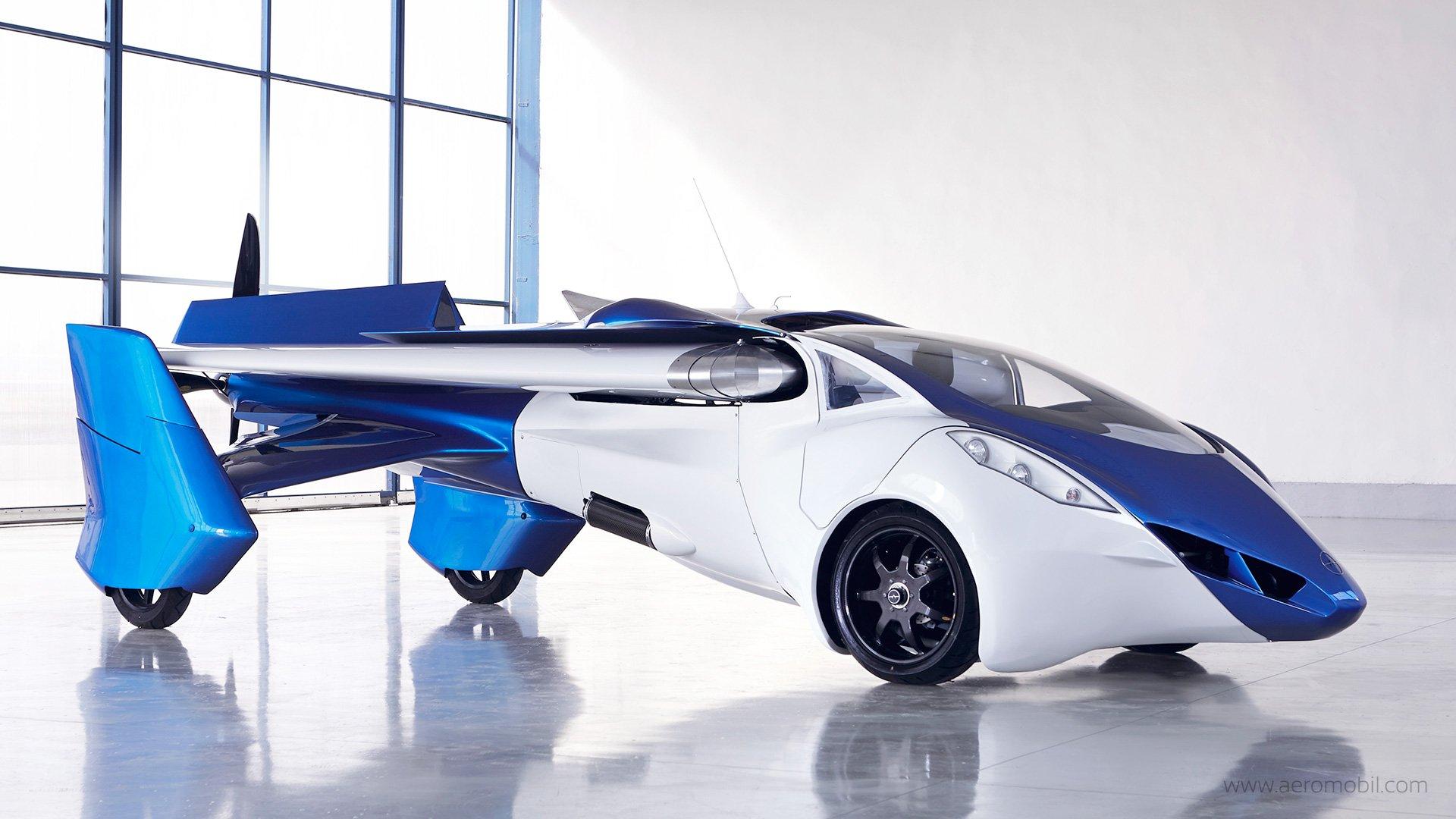 Летающий аэромобиль 3.0 выйдет в 2018 году