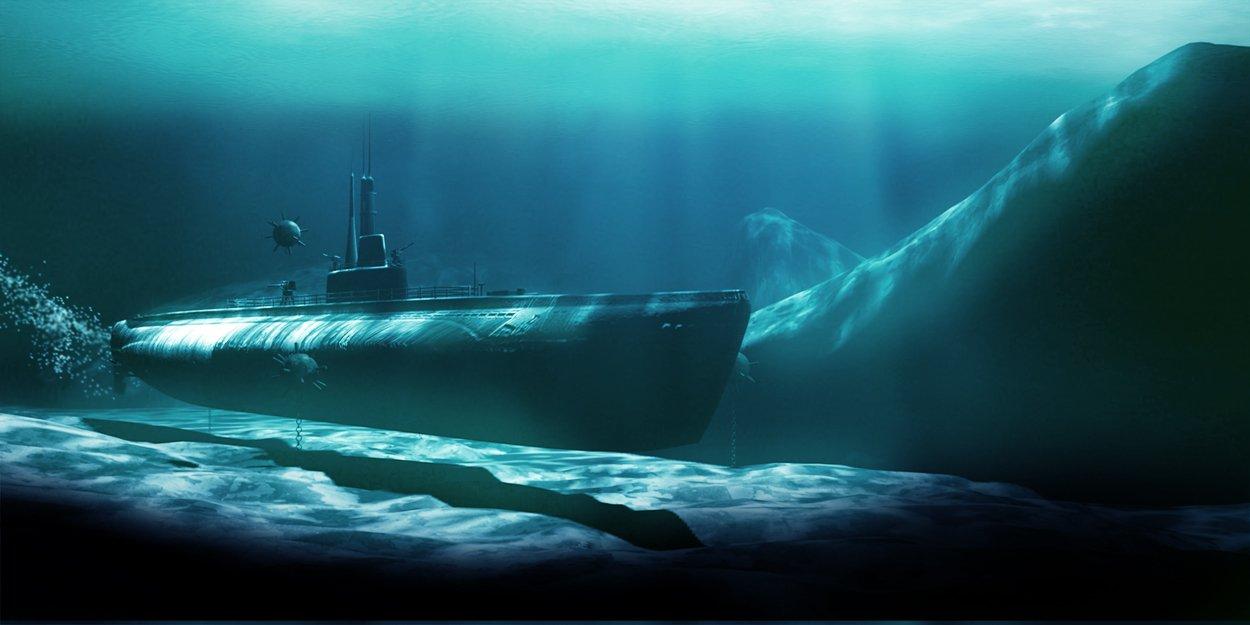 Фото российская подводная лодка под водой
