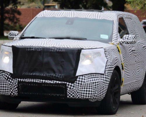 Прототип Ford Explorer 2019 замечен во время тестирования