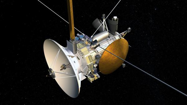 NASA на спутнике Сатурна Дионе нашло свечение, похожее на океан
