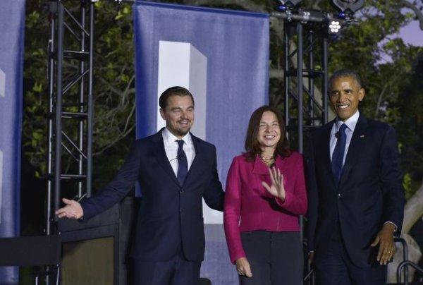 Обама назвал Ди Каприо сумасшедшим