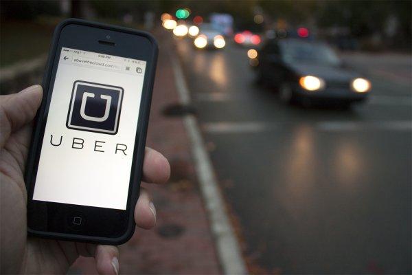 Сервис Uber предлагает бронирование машины