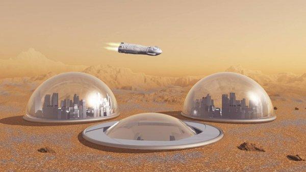 Ученые: Колонизация Марса начнется через 20 лет