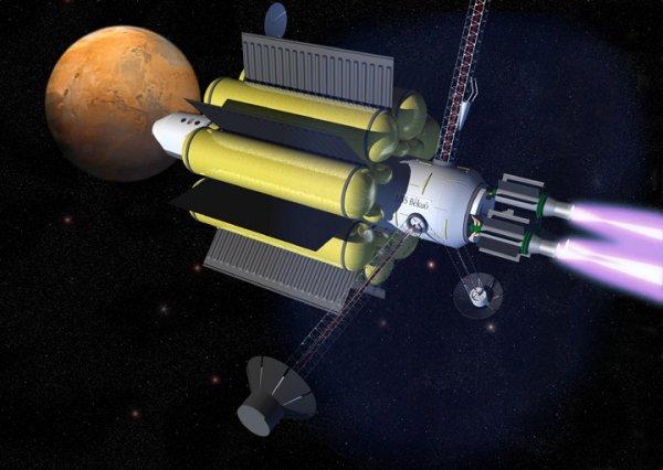 Ученые из Австралии разработали ионный мотор, работающий на космическом мусоре