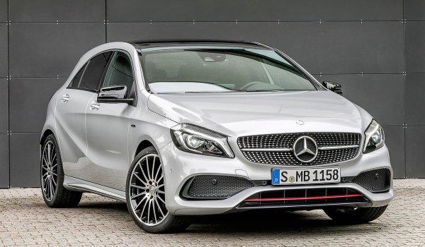 Хакеры слили в Сети снимки модифицированного Mercedes-Benz A-класса