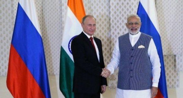 Путин и Моди высказались о необходимости диалога Киева и Донбасса