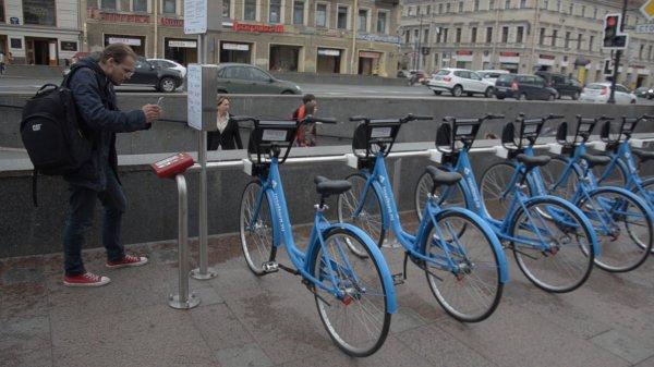 В Петергофе открываются новые станции велопроката