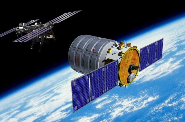 На орбиту успешно вывели космический грузовик Cygnus