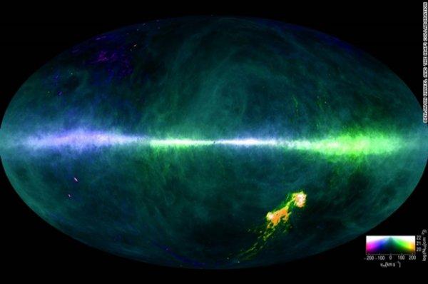 Ученые создали самую подробную водородную карту Млечного Пути