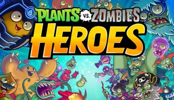 На Android и iOS вышла карточная версия игры Plants vs. Zombies Heroes