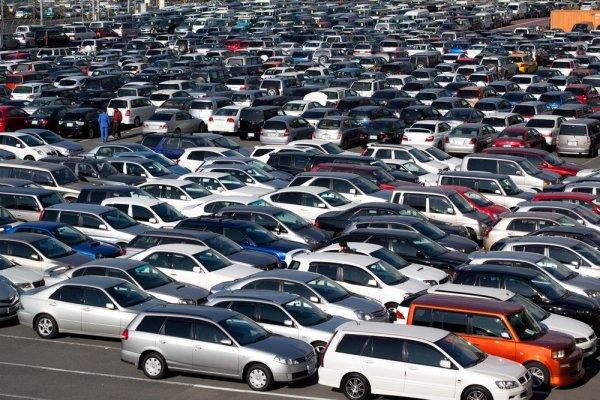 Украина импортировала рекордное число легковых машин