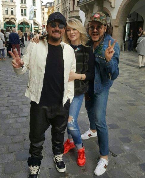Киркоров встретился в Мюнхене со Стасом Михайловым и его женой
