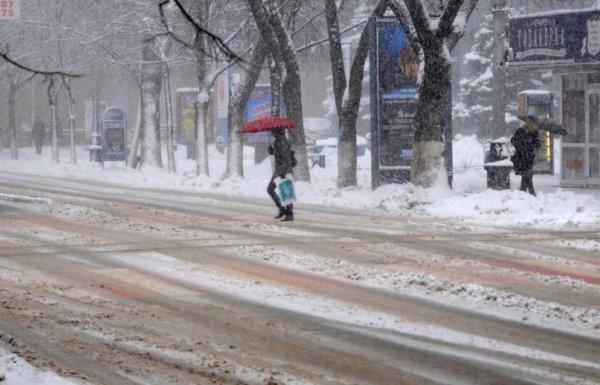 В Краснодарском крае в выходные выпадет снег