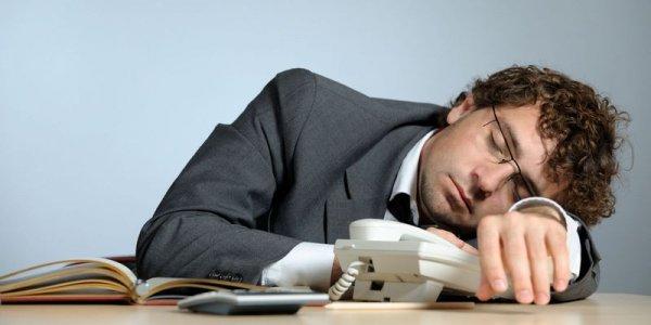 Плохое освещение рабочего места является причиной сонливости