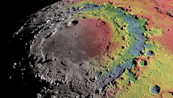 Ученые: Загадка возникновения «колизея» на Луне раскрыта