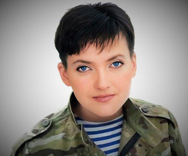 Надежда Савченко назвала Петра Порошенко «слабым президентом»