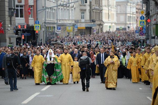 4 ноября в России пройдет крестный ход
