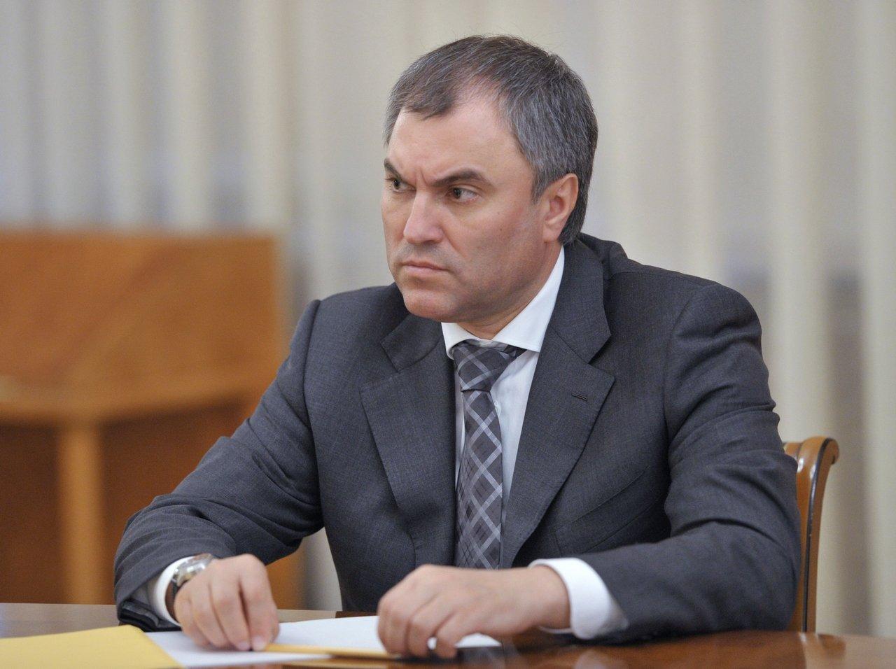 «Так с нашим государством поступать нельзя»: Володин объяснил поправки о СМИ-иноагентах