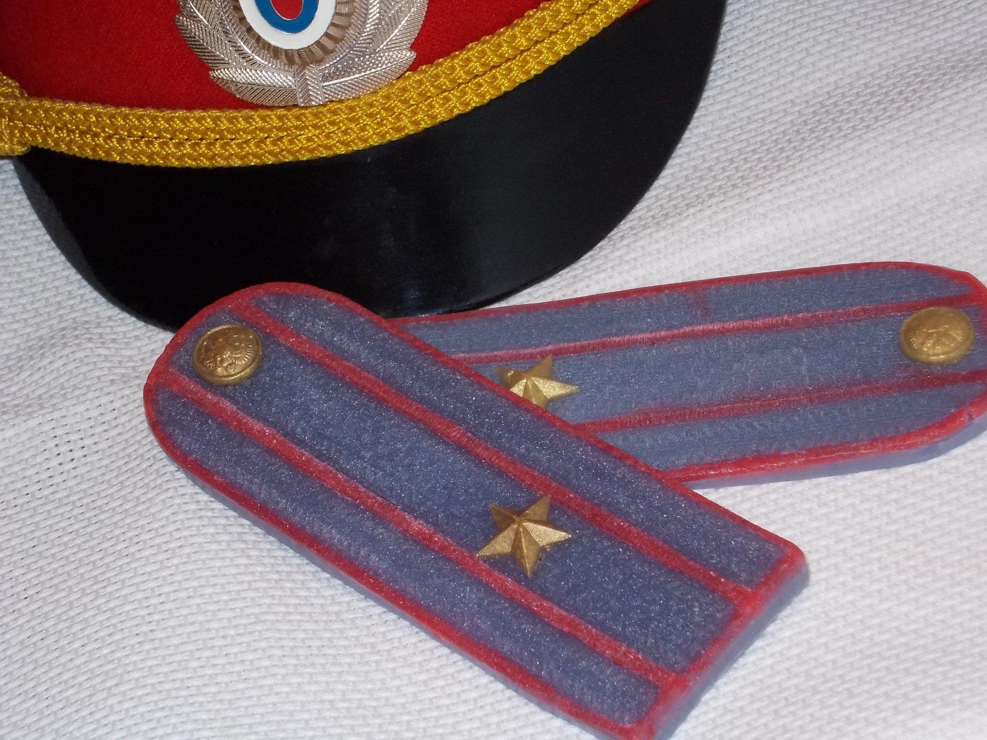 Поздравление со званием лейтенанта полиции