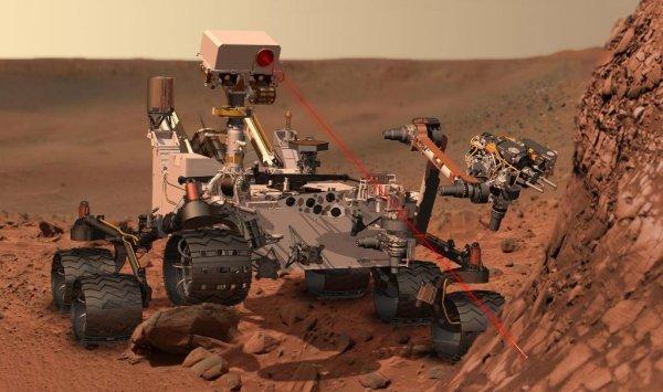 Аппарат Curiosity обнаружил на Марсе необычный металлический метеорит