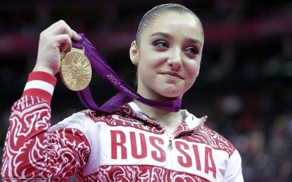 Гимнастка Алия Мустафина вышла замуж за бобслеиста Алексея Зайцева