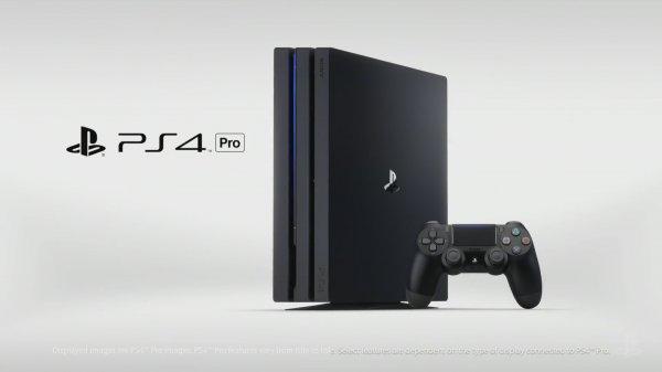 Sony назвала PlayStation 4 Pro самой мощной в мире игровой консолью