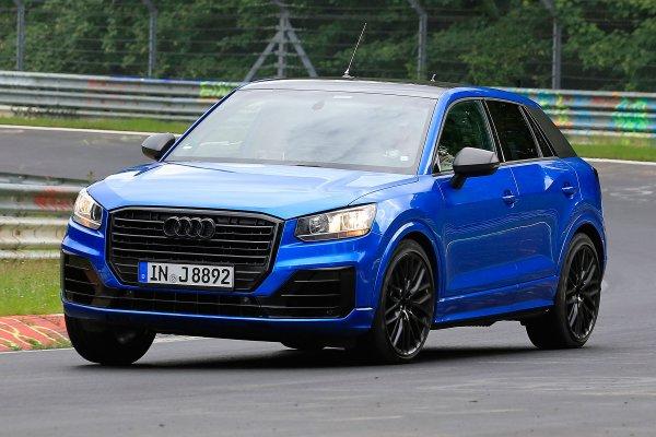 «Заряженный» Audi SQ2 показал себя на Нюрбургринге