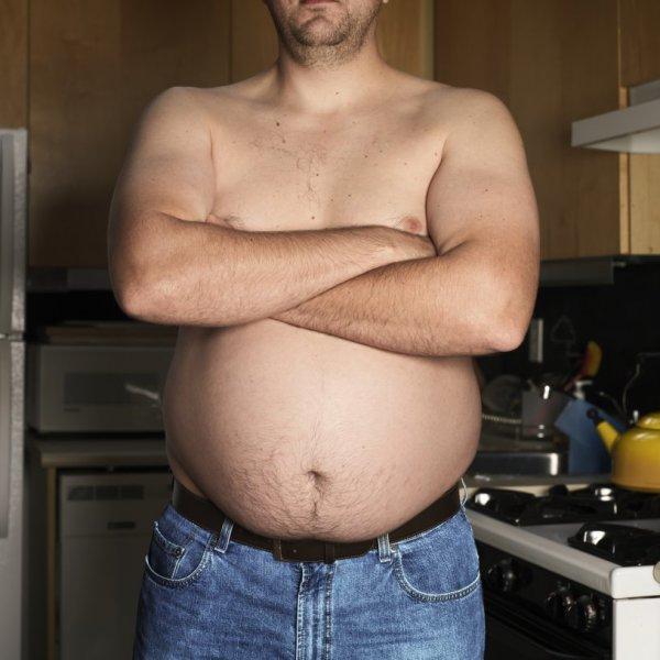 Учёные: Мужчины с круглым животом живут дольше стройных джентльменов