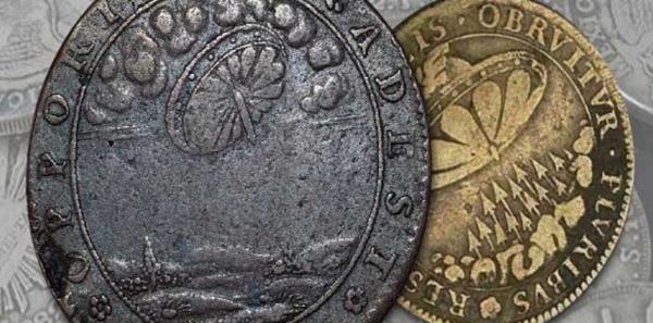 В Египте обнаружена старинная монета с изображением пришельца