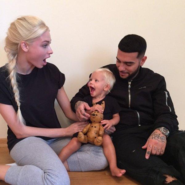 Тимати и Алена Шишкова провели время вместе на семейном празднике