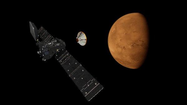 Изучение атмосферы Марса аппаратом TGO начнется 20 ноября