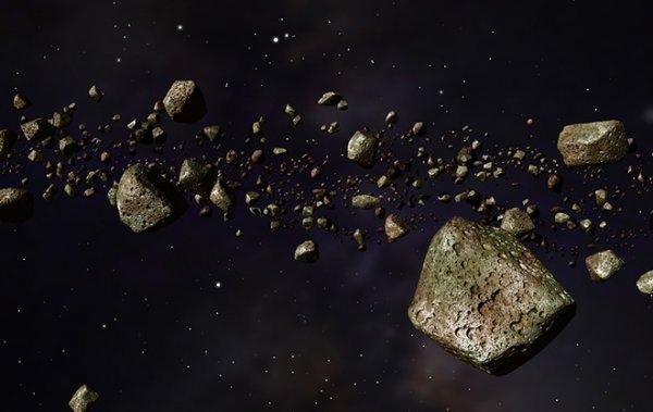 Троянские астероиды оказались в плену Юпитера