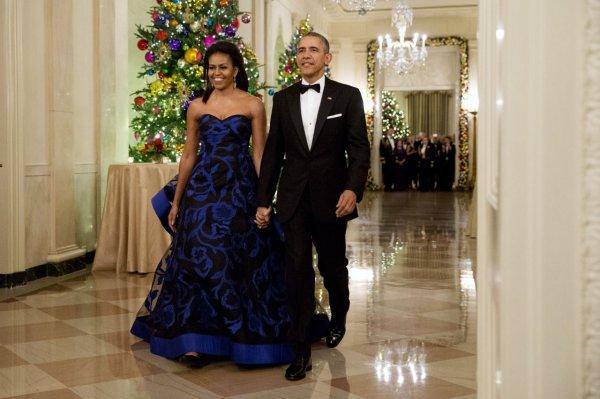 Западные издания рассказали о стиле Мишель Обамы