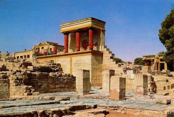Найдена причина гибели древней Крито-Минойской цивилизации