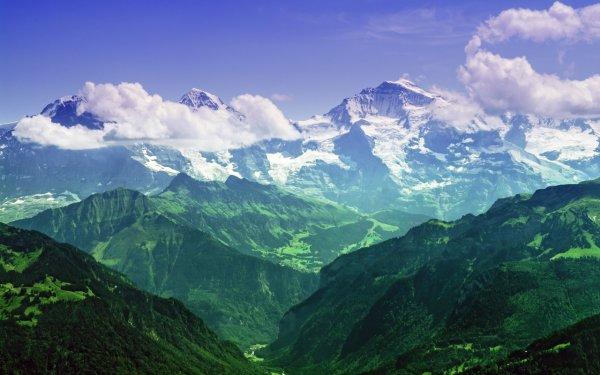 Ученые заявили, что Альпы растут из-за таяния гор