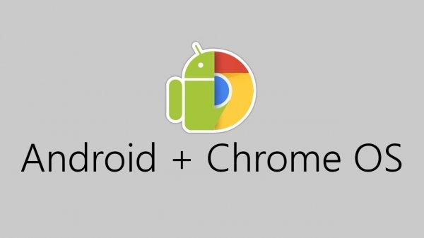 Google объединит мобильную платформу Android и Chrome OS в Andromeda