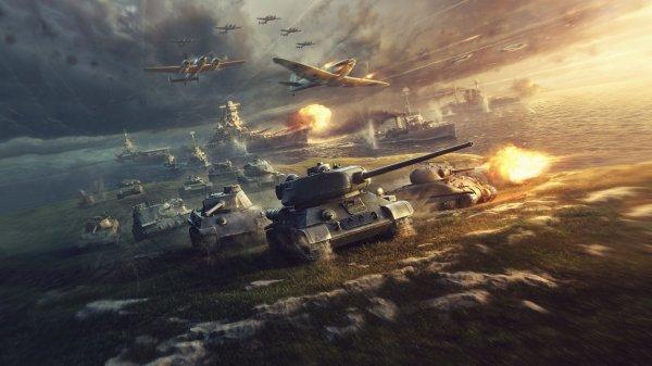 Обновленная версия PS4/Pro World of Tanks поддерживает HDR и 4K