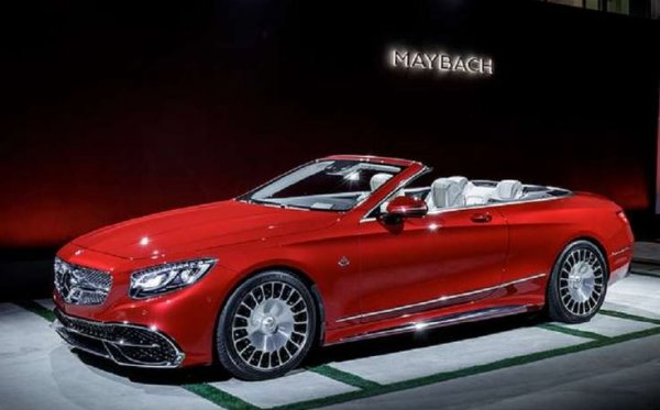 Mercedes-Maybach S650 Cabriolet официально презентован