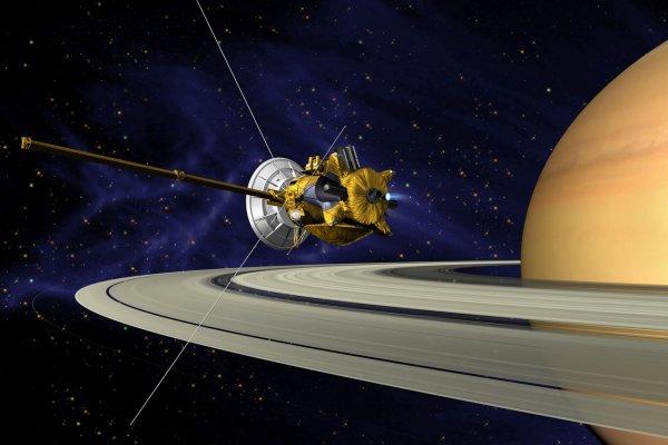 NASA: Cassini изучит кольца Сатурна до завершения миссии в 2017 году