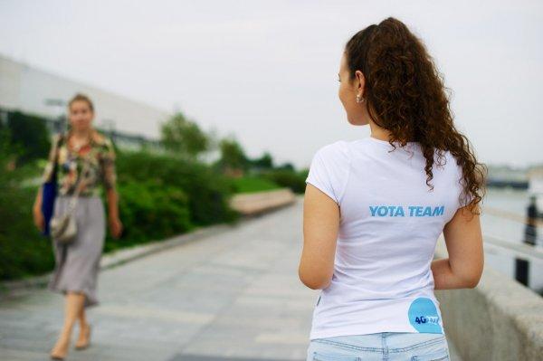 Оператор Yota получает жалобы от абонентов на сбой в работе