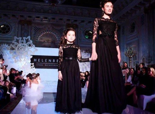 Анастасия Приходько впервые появилась на публике с дочерью