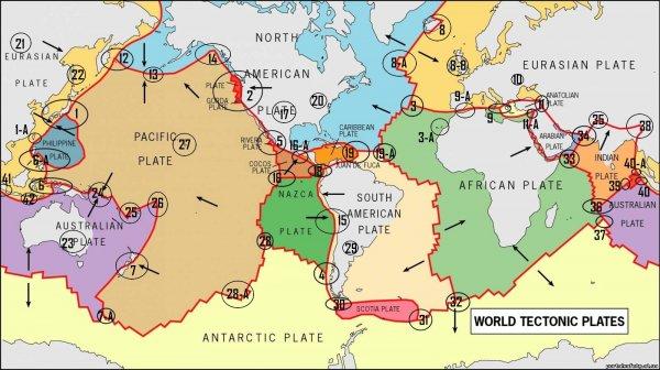Ученые определили будущие места происхождения мощнейших землетрясений