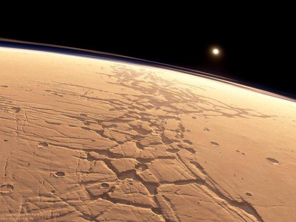 На Марсе обнаружили загадочный лабиринт