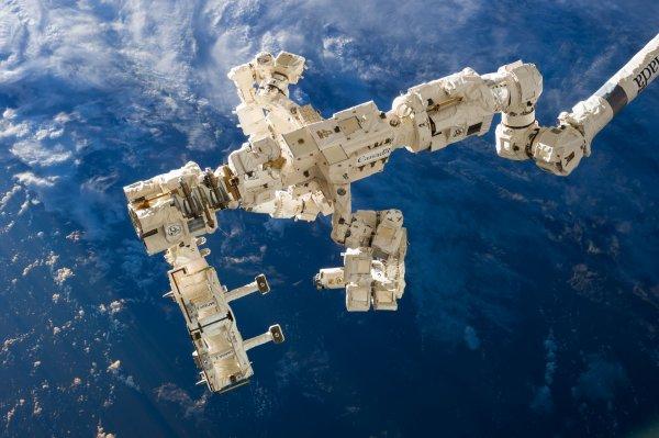 На МКС сломалось американское устройство по измерению океанических ветров