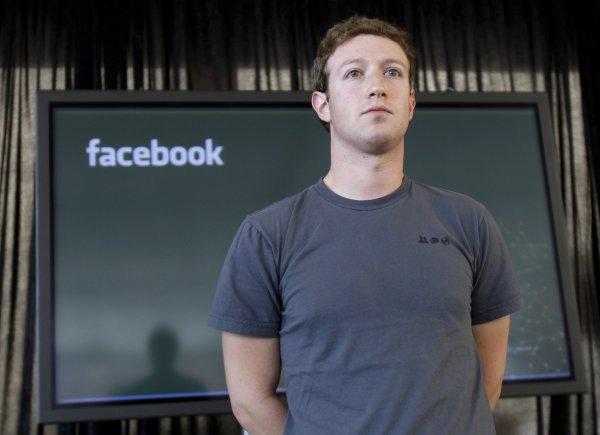 Facebook удалил около десяти сообщений Марка Цукерберга