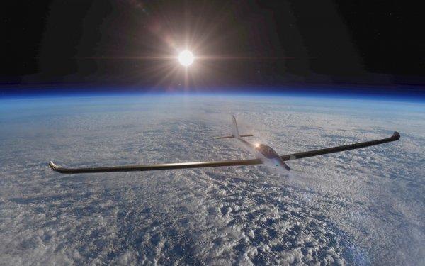 Создан двухместный самолет для путешествий в космос