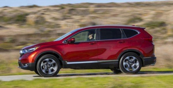 Honda сообщила о дате выхода нового CR-V